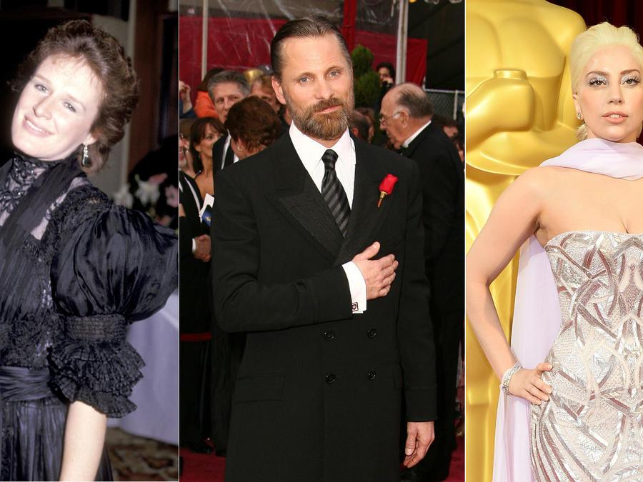 Glenn Close, Viggo Mortensen, Lady Gaga