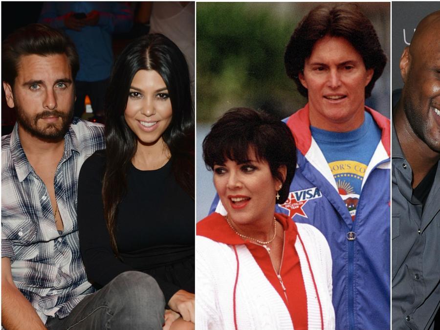 Ex parejas de las Kardashian