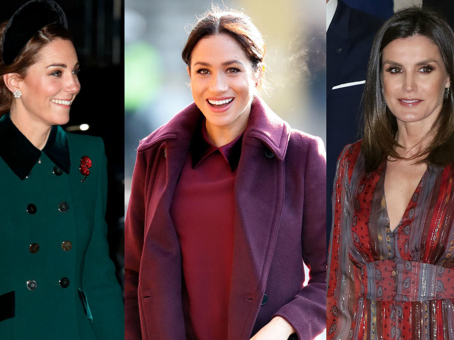 Kate Middleton, Megan Markle y la reina Letizia