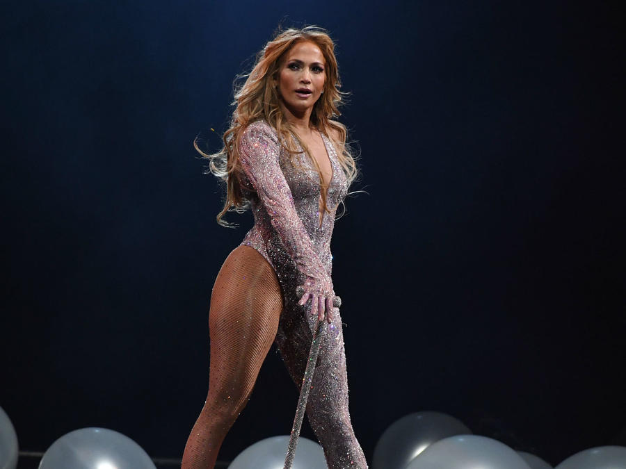 "Jennifer Lopez en ""It's my Party"" Tour"