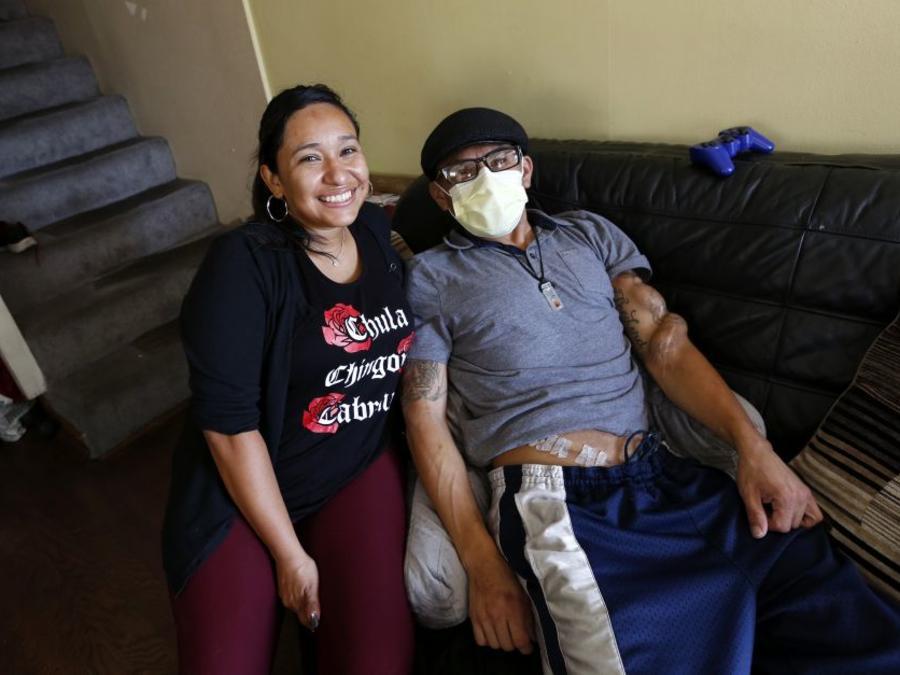 Antonieta González donó su riñón a su amigo Junior Vázquez