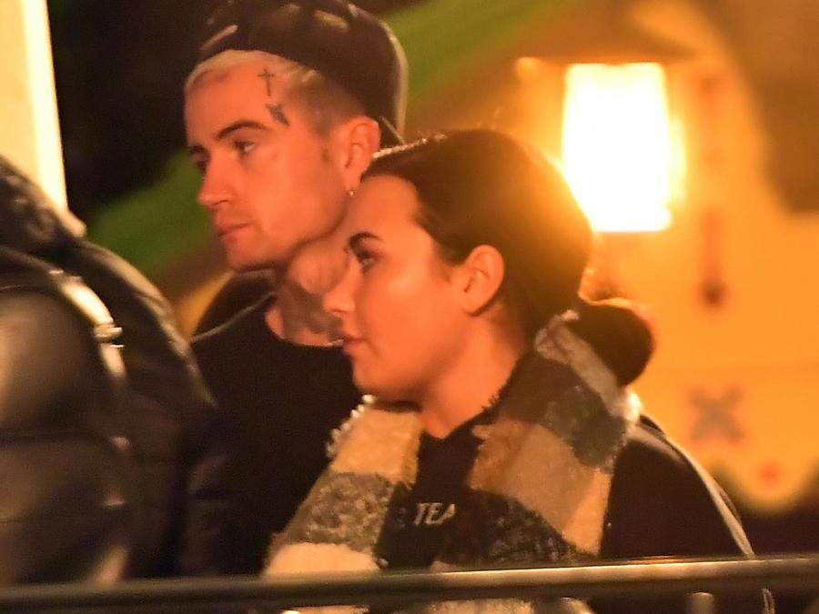 PREMIUM EXC Demi Lovato , Austin Wilson