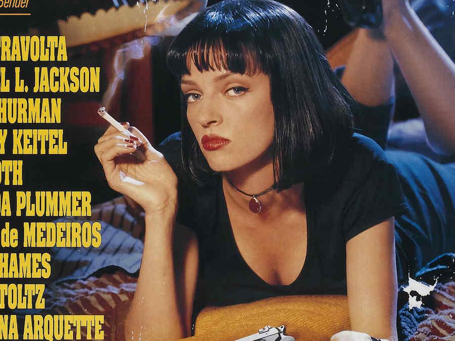 """Póster de """"Pulp Fiction""""."""