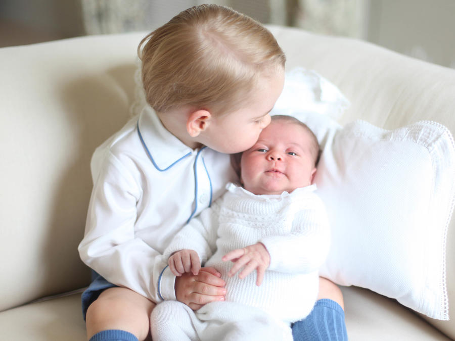 Prince George & Princess Charlotte Of Cambridge