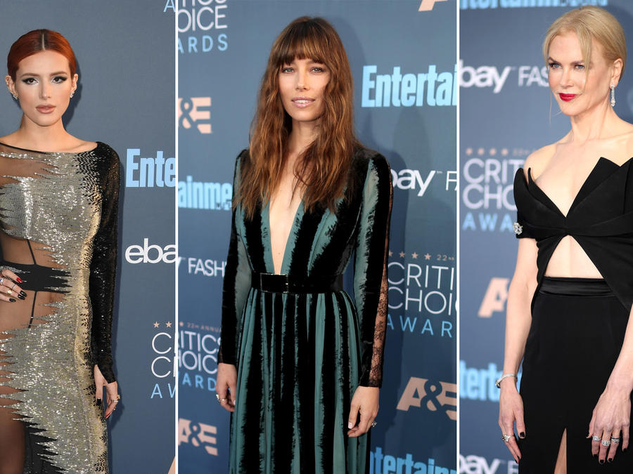 Actrices en la alfombra roja de Critics Choice Awards 2016