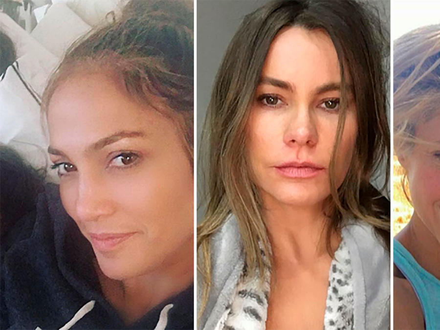 Jennifer Lopez, Sofía Vergara, Shakira muestran su belleza natural