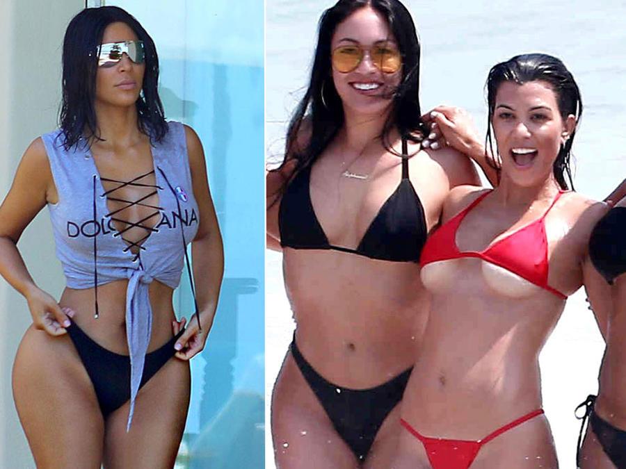 Las Kardashian de vacaciones en México