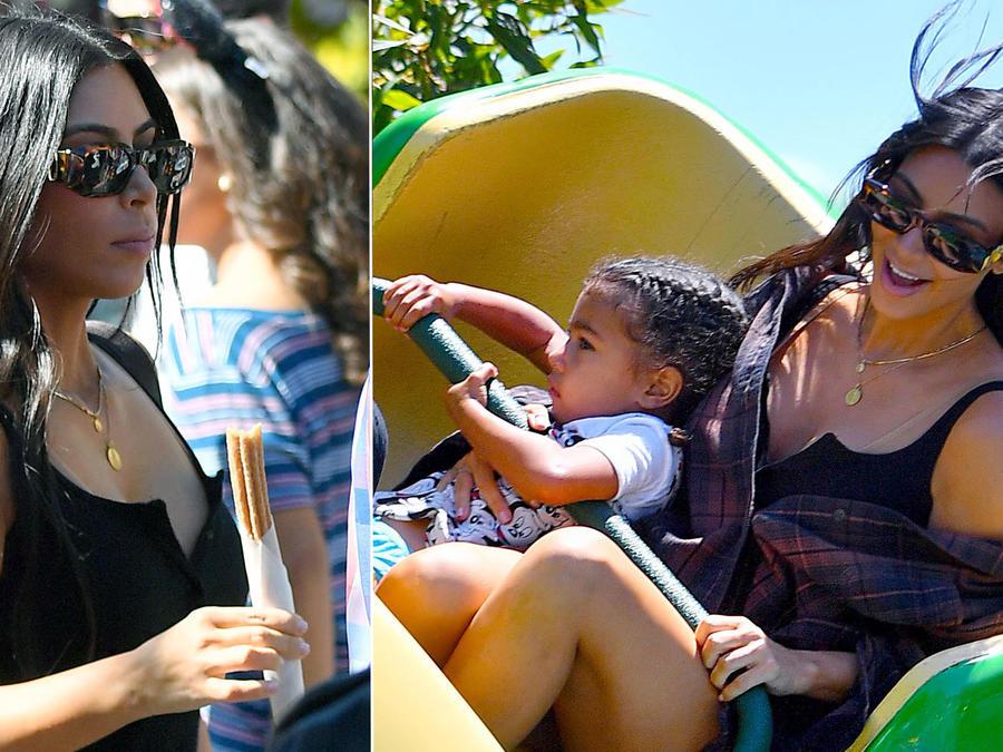 Kim Kardashian en Disney