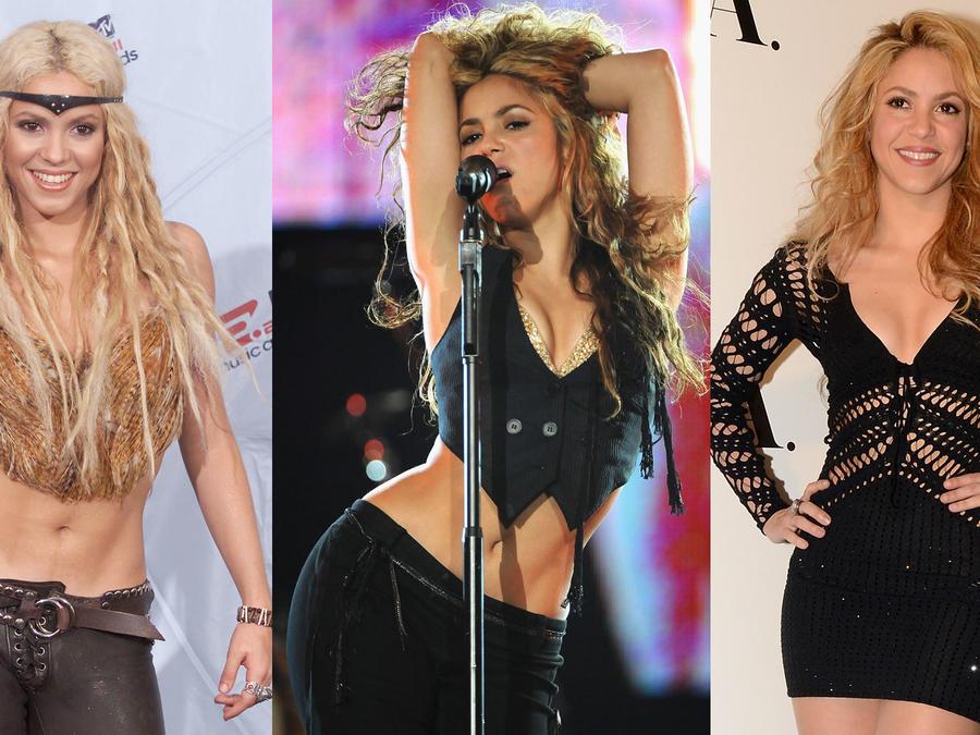 La vida de Shakira