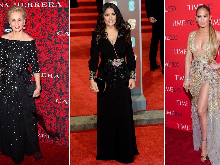 Latinas mejores vestidas