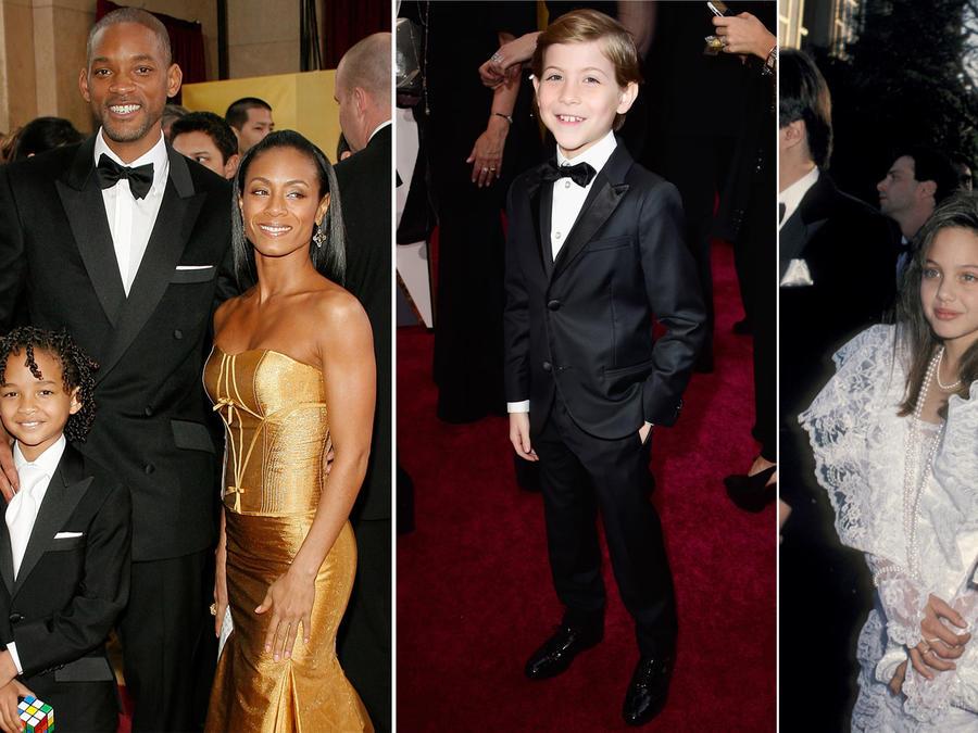 Collage niños en los Oscar