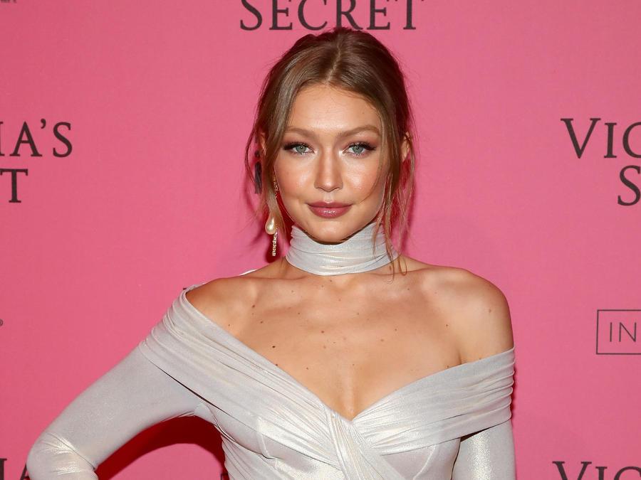 Gigi Hadid en Victoria's Secret 2018