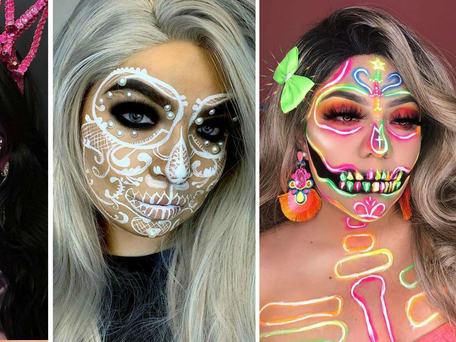 Ideas de maquillaje de catrina