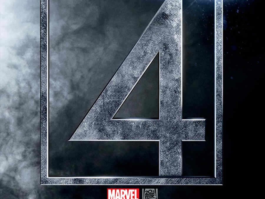 """""""The Fantastic Four"""" póster."""