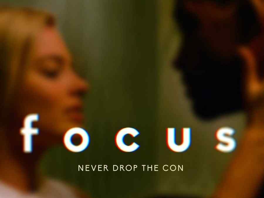 "Póster de la película ""Focus""."