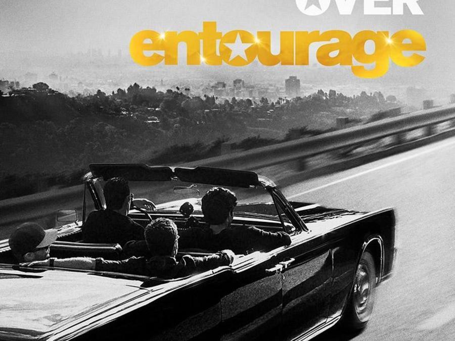 "Póster de la película ""Entourage""."