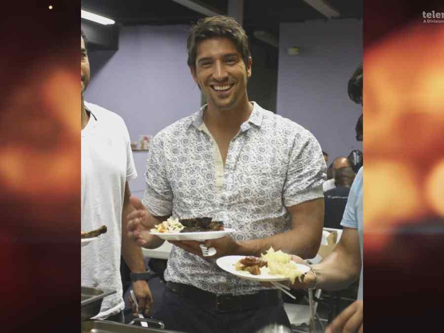 David Chocarro en la cocina