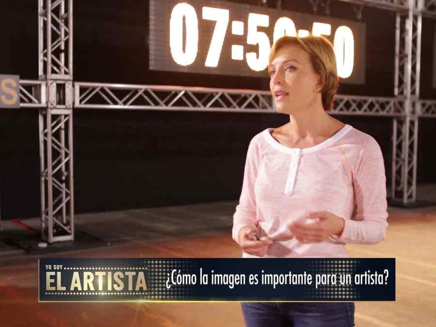 Laura Flores en Yo Soy El Artista