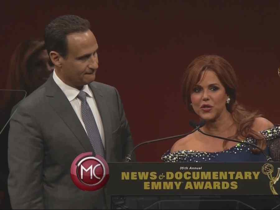 Equipo de noticias Telemundo recibe un Emmy