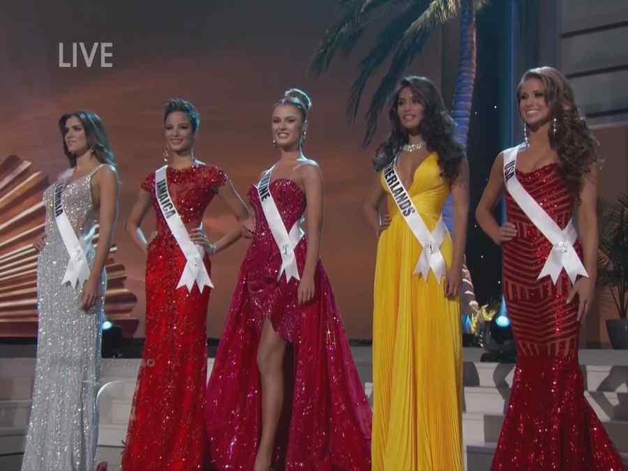 El Miss Universo ya escogi a sus cinco finalistas Fotos Diario 37