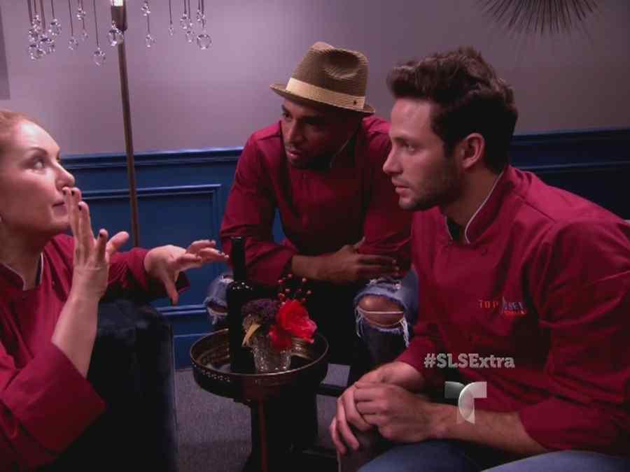 Judith Grace, Henry Santos y Gabriel Coronel en Top Chef Estrellas