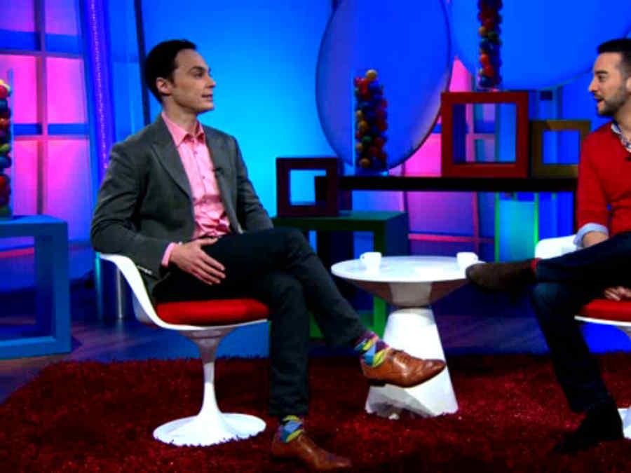 """Entrevista exclusiva con Jim Parsons de la película """"Home""""."""