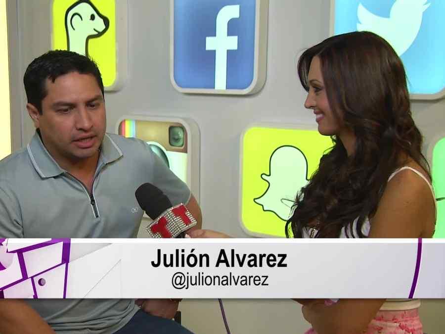 Julión Álvarez en entrevista en Premios Billboard 2015