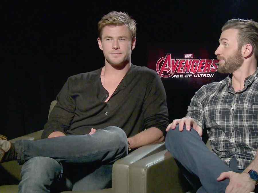 Chris Evans y Chris Hemsworth nos dicen quién es el líder de los Avengers