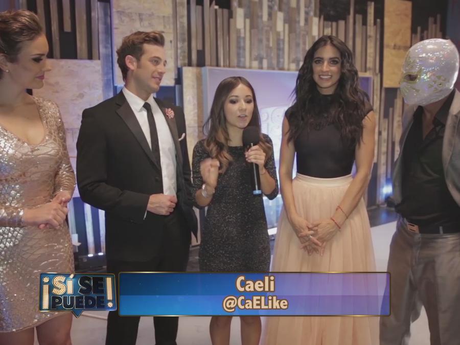 Lambda Garcia, Ana Belena, Caeli, Barbara de Regil, Mistico en entrevista
