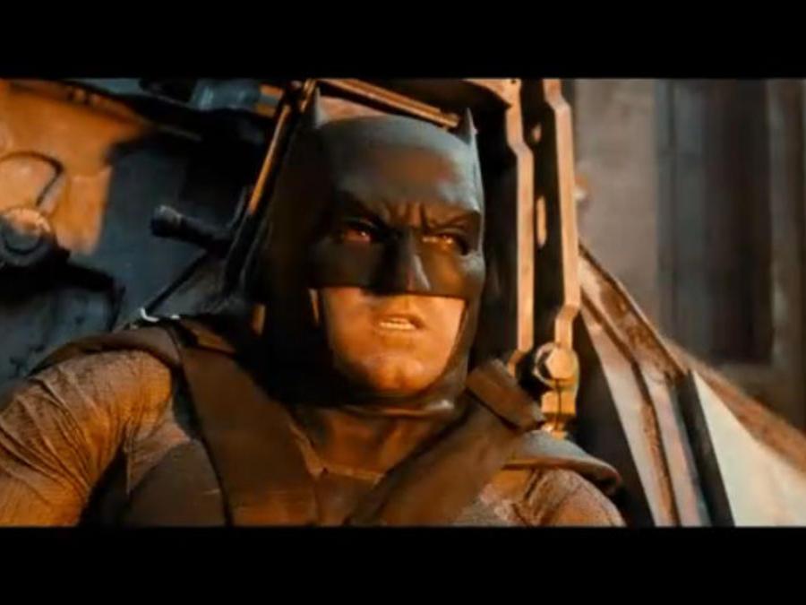 """Ben Affleck en """"Batman v Superman: Dawn of Justice""""."""