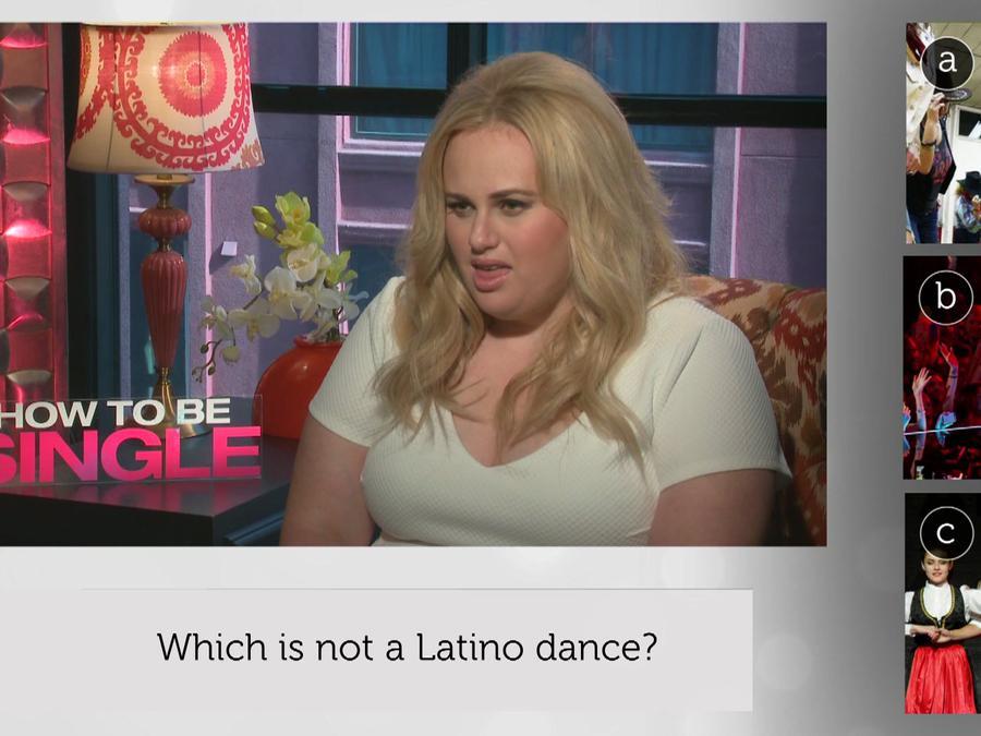 """Rebel Wilson de la película """"How to Be Single"""" se puso a prueba en el Latino IQ"""