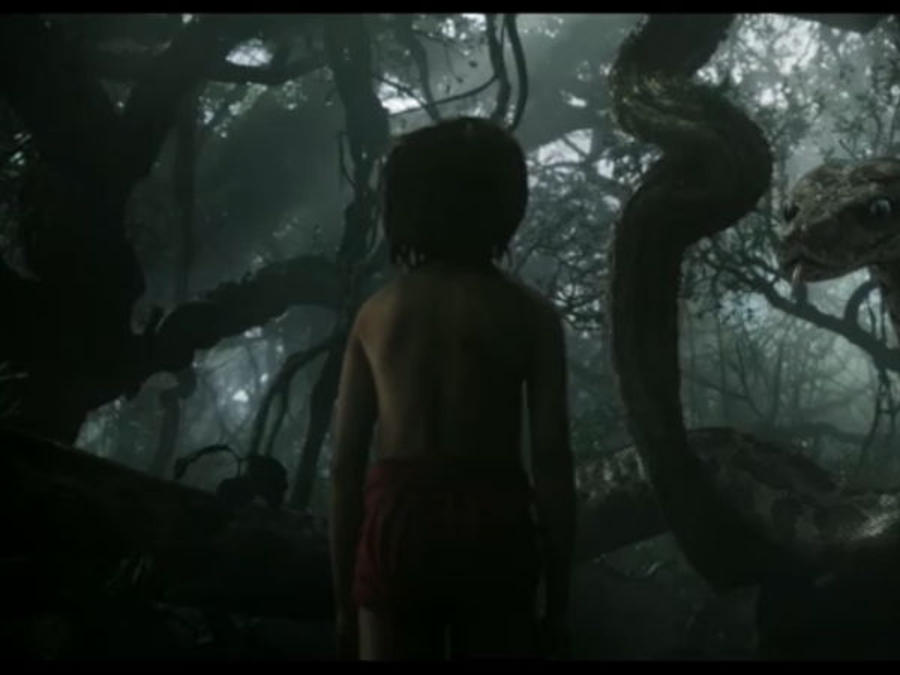 "Tráiler de la película ""The Jungle Book"""