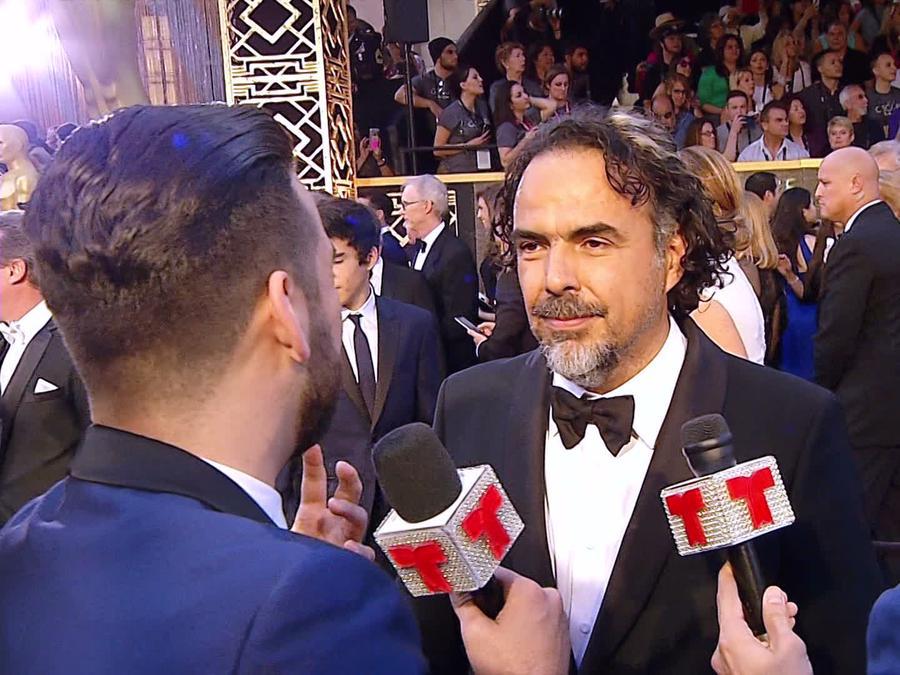 Alejandro G Iñárritu en los premios Oscar 2016