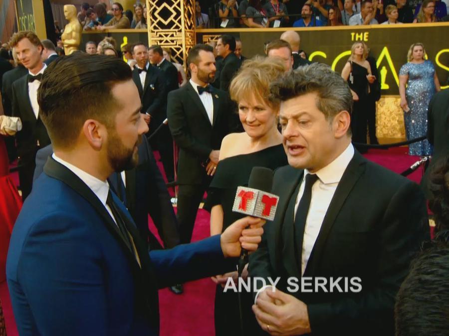 Andy Serkis en los Oscar 2016