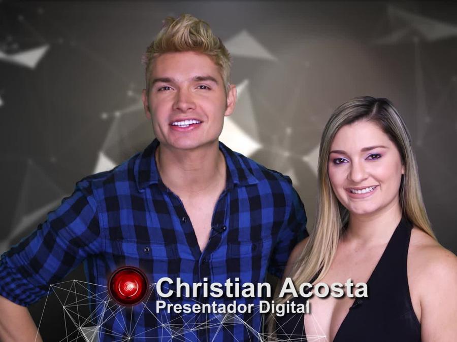 Christian Acosta y Andrea, expulsada de Gran Hermano
