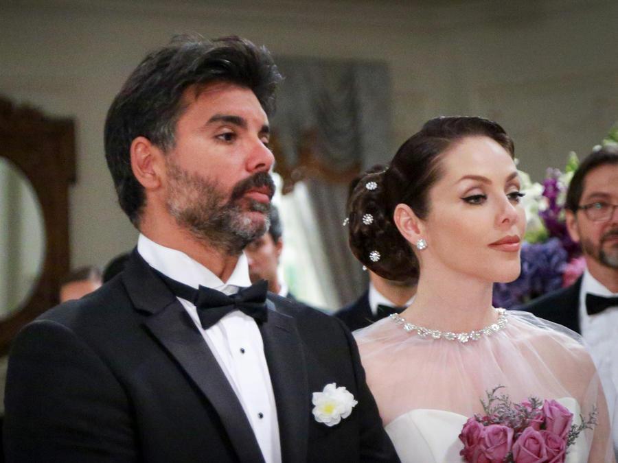 Jorge Luis Pila y Erika de la Rosa se unen en matrimonio en Eva la Trailera