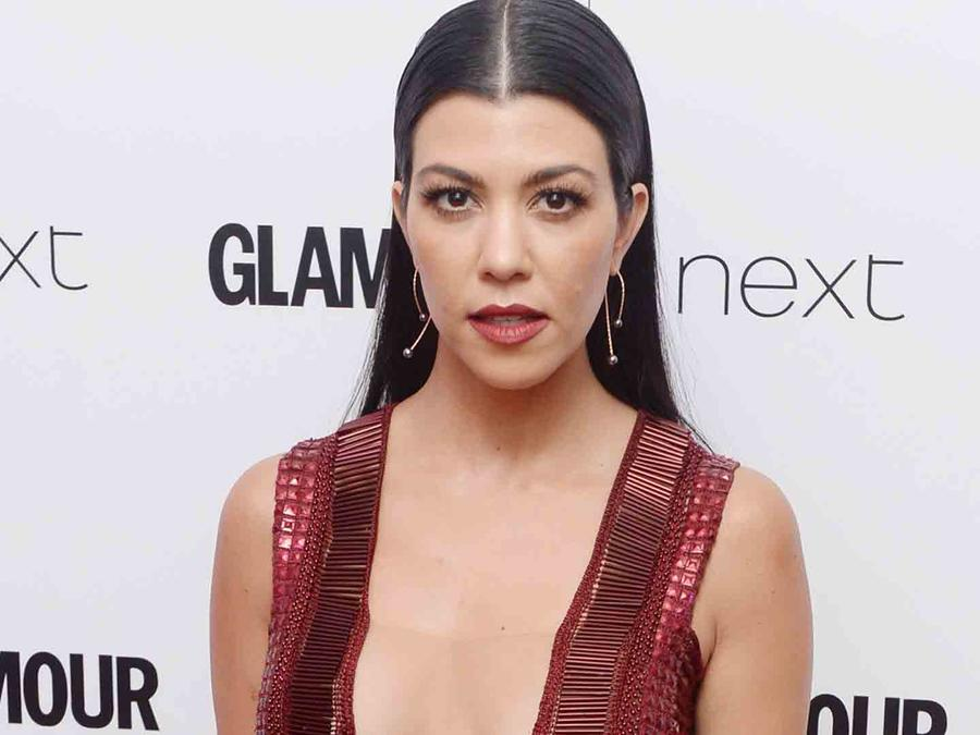 Kourtney Kardashian en Glamour Women of the Year 2016