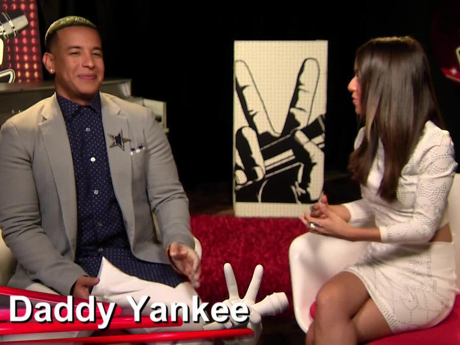Daddy Yankee en entrevista con Caeli en la segunda gala de La voz Kids