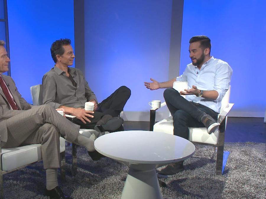 """Entrevista con Bryan Cranston y Benjamin Pratt de la película """"The Infiltrator"""""""