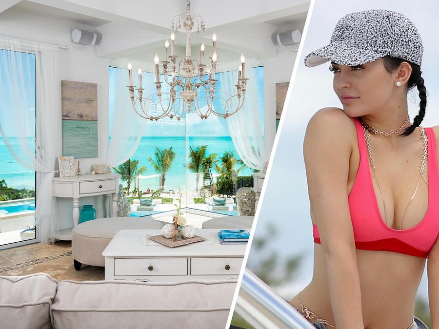 La mansión de Kylie Jenner en Turks & Caicos
