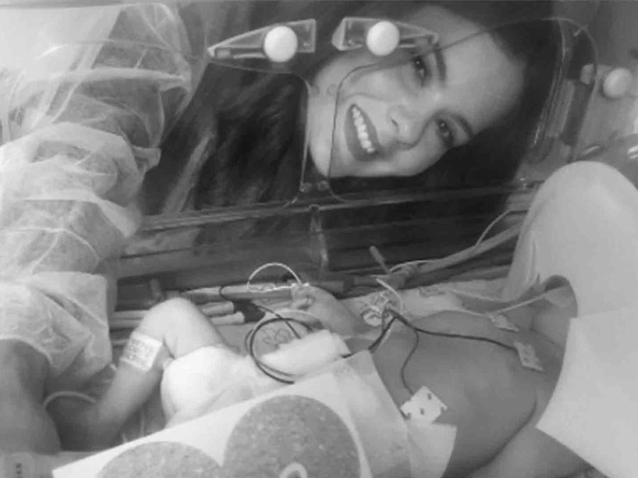 La bebé de Wisin, Victoria