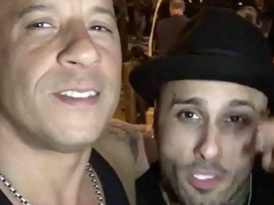 Vin Diesel y Nicky Jam