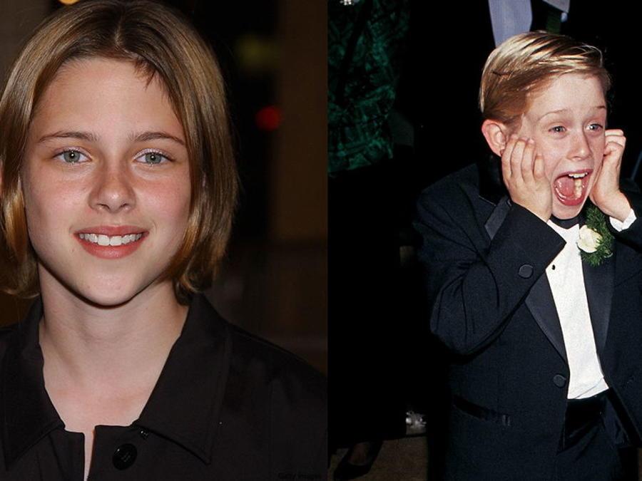 Macaulay Culkin y Kristen Stewart