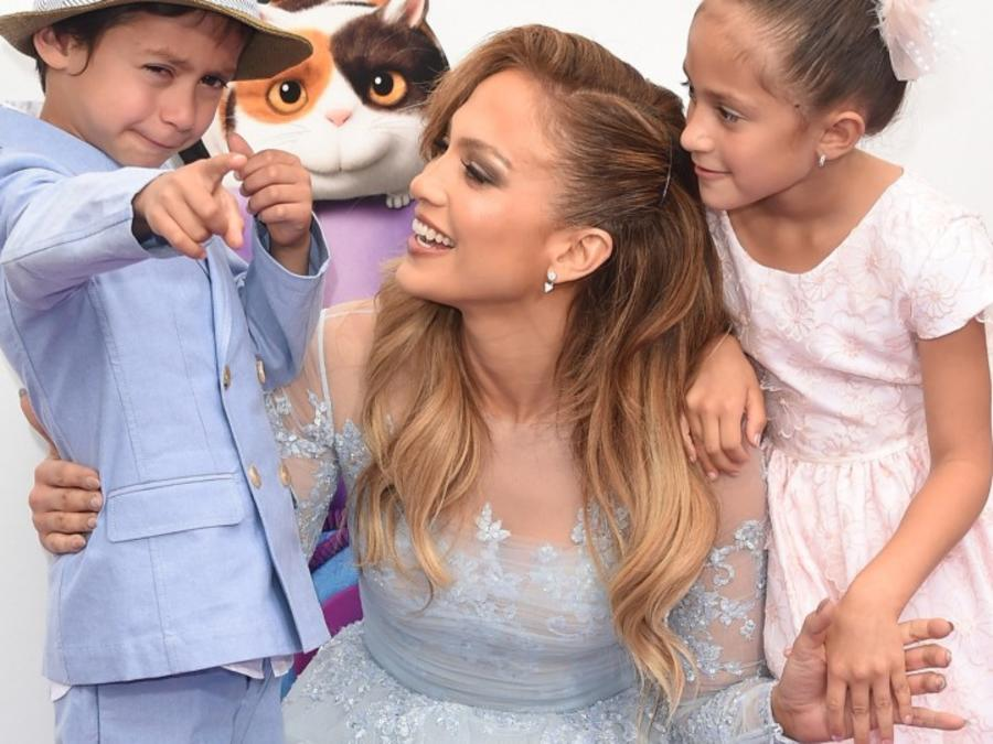 "JLo got emotional talking about her ""coconuts"""