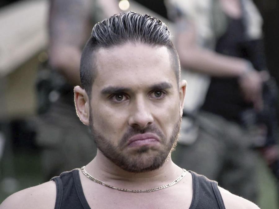 Sebastián Caicedo en El Chema