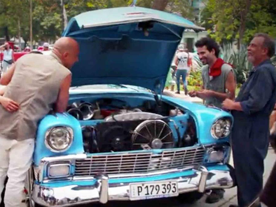 "Vin Diesel en Cuba grabando ""Fate of the Furious"""