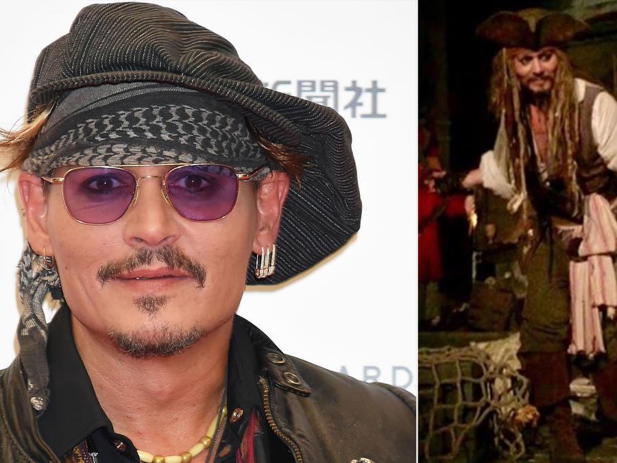 Johnny Depp Pirates of The Caribbean