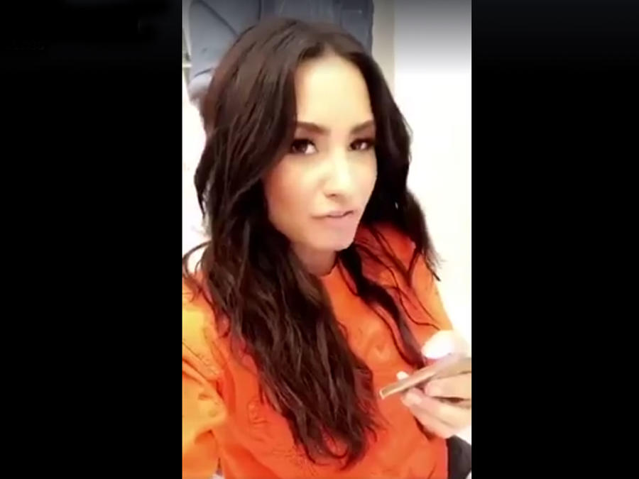 """Demi Lovato cantanto """"Despacito"""""""