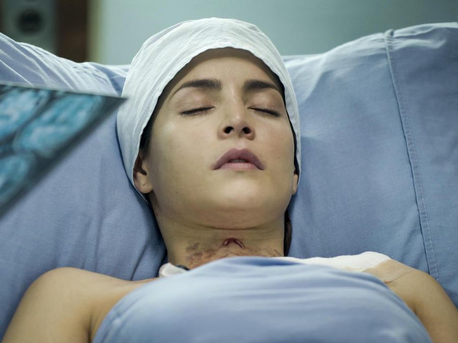 Carmen Villalobos hospitalizada en Sin Senos Sí Hay Paraíso