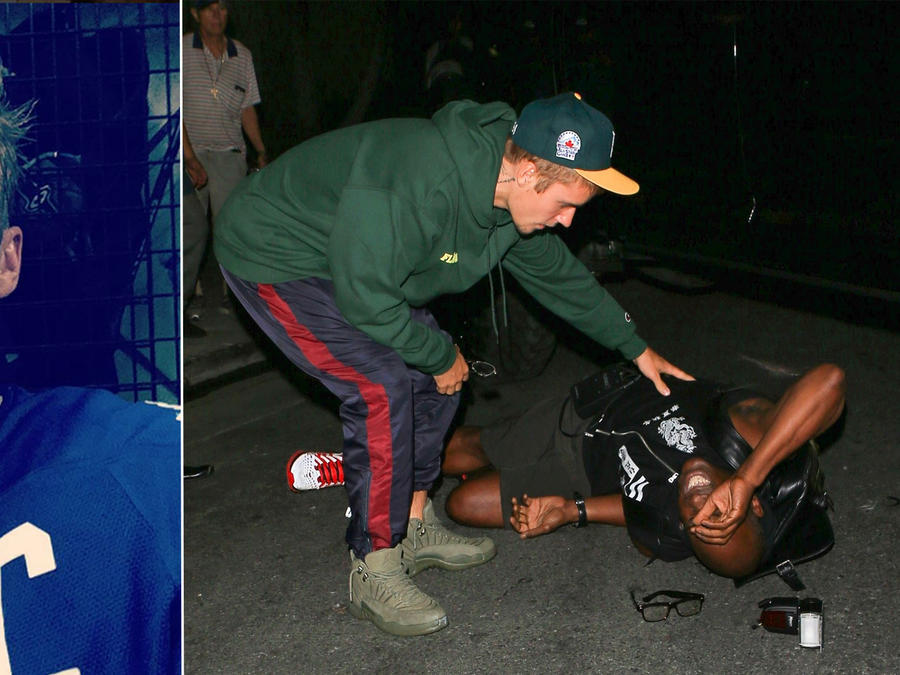 Justin Bieber atropelló a un paparazzi